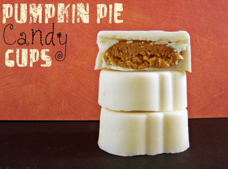 Pumpkin Pie Candy Cups