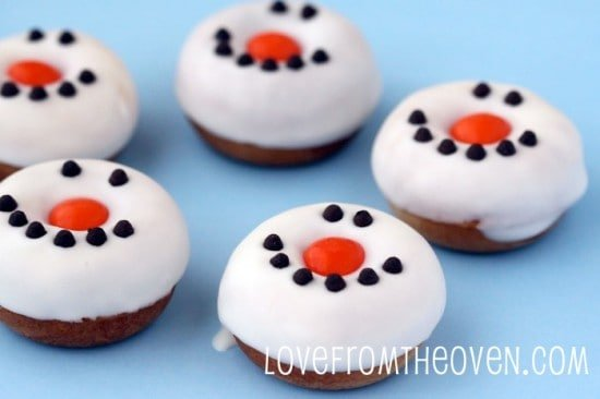 Reindeer Donuts And Snowman