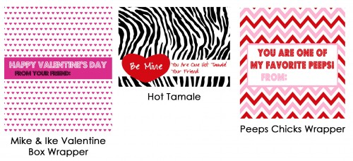More Free Valentines Day Printables