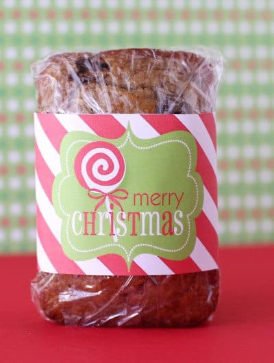 12 Days Of Holiday Baking – Free Printables – Day 5