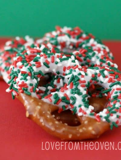 12 Days Of Holiday Baking – Day 1 – Chocolate Pretzels