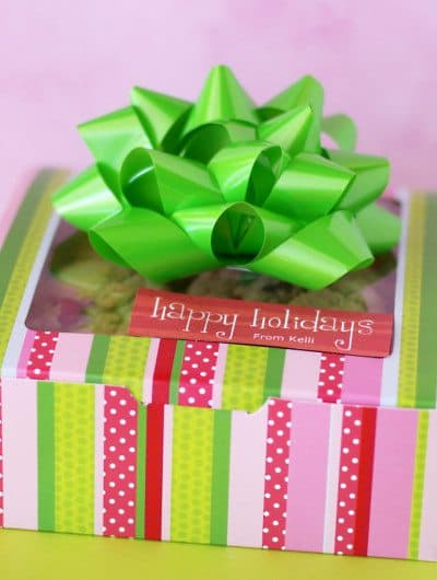 12 Days Of Holiday Baking – Free Printables – Day 6