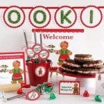 Giveaway Closed 12 Days Of Holiday Baking Giveaway – Amy Miller Designs Cookie Exchange Party Printables