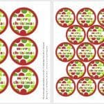 12 Days Of Holiday Baking – Free Printables – Day 1