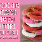 How To Make Chocolate Covered Pretzels Tutorial