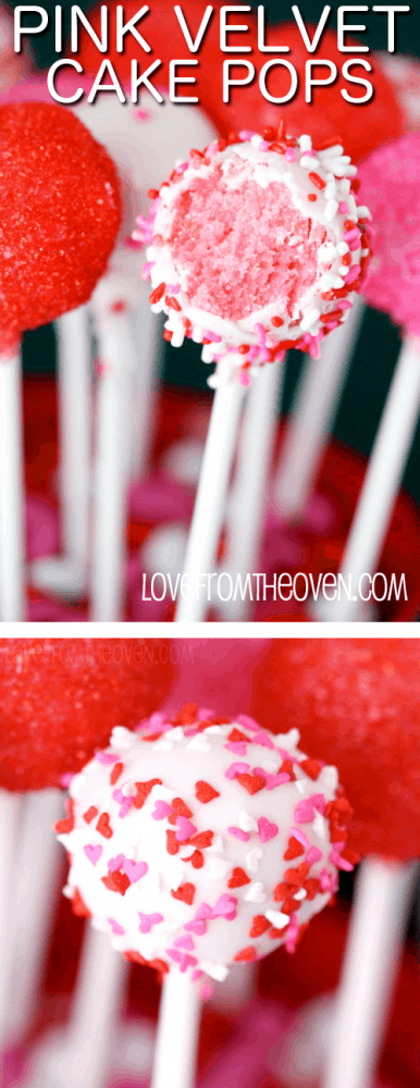Pink Velvet Cake Pops
