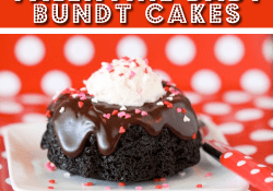 Valentine Baby Bundt Cakes by Love From The Oven
