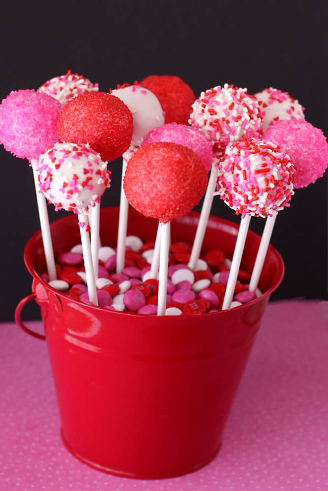 valentines day cake pops - love from the oven, Ideas
