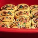 Birthday Cinnamon Rolls – Using The Pioneer Woman Ree Drumond's Recipe