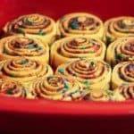 Birthday Cinnamon Rolls – Using The Pioneer Woman Ree Drumond's Recipe