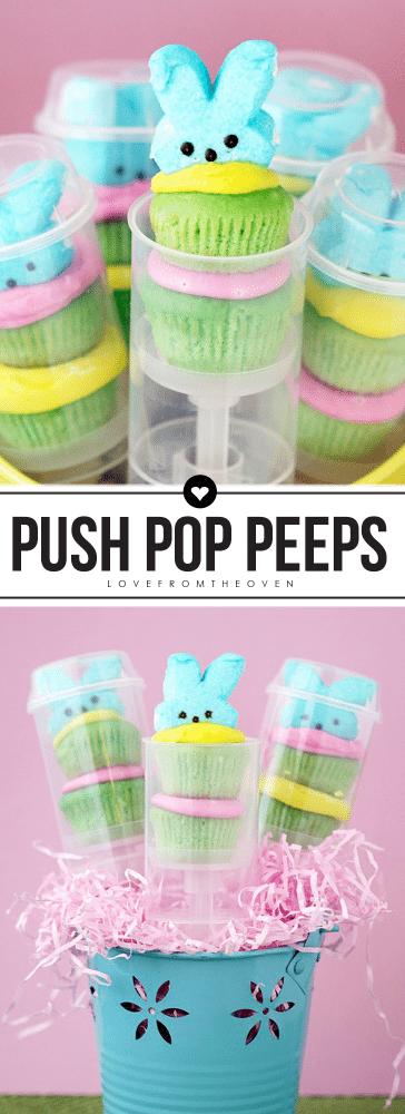 Push Pop Peeps For Easter