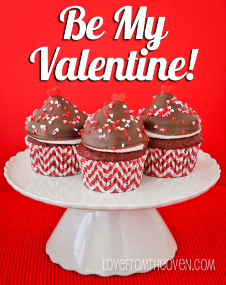 Valentines Recipes Red Velvet Cupcakes