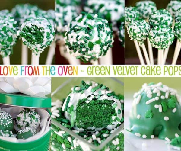 Green Velvet Cake Pops – St. Patrick's Day Treats & Sweets