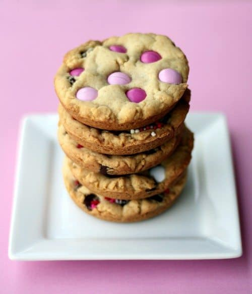 more detailed post from last year when I made chocolate chip cookies ...