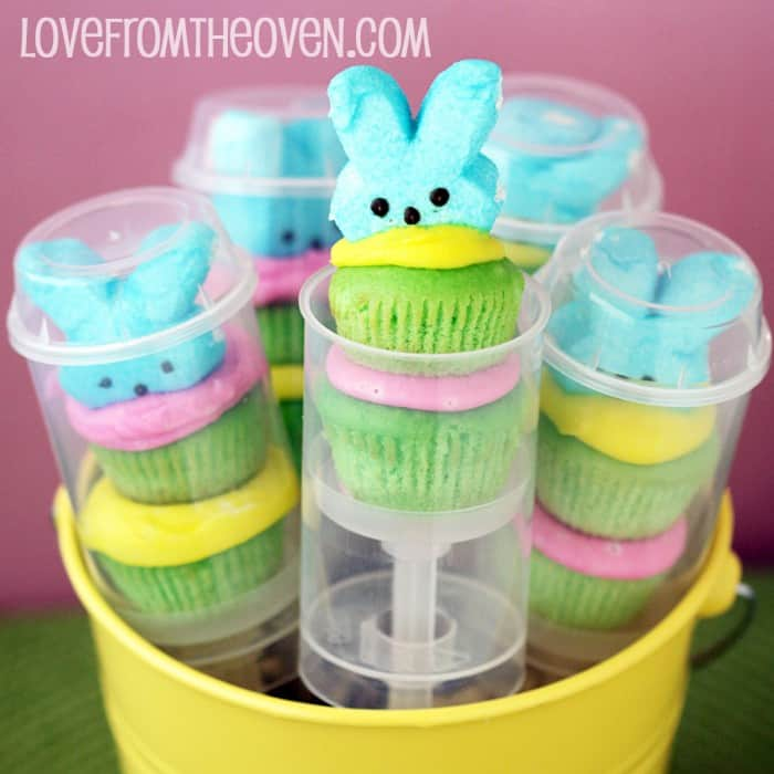 Love From The Oven's Cupcake Push Pop Peeps