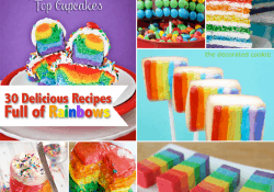 Rainbow Recipe Collection at Love From The Oven