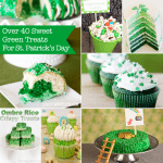 St. Patrick's Day – Green Sweet & Treat Recipes <BR>Bites From Other Blogs