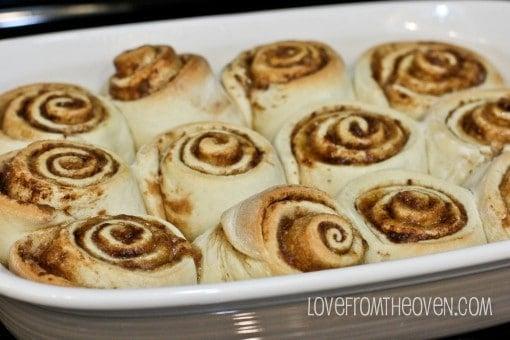 Cake mix cinnamon roll recipe