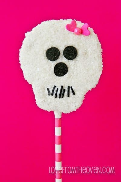 Easy Rice Krispies Treat Pops