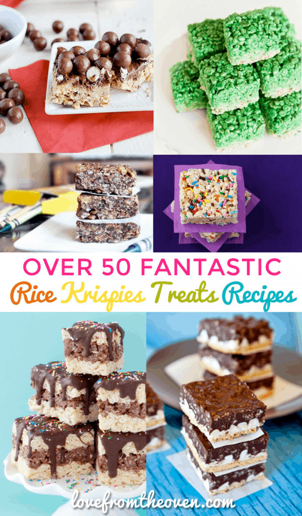 Over 50 Fantastic Rice Krispies Treats Recipes
