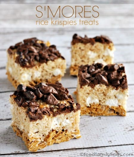 Food Family And Finds S Mores Krispie Treats