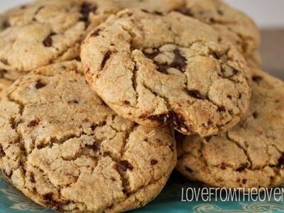 Bakery Style Chocolate Chip Cookies & Cookie Favor Packaging