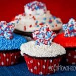 Red, White & Blue StarMallow Cupcakes & A Jet-Puffed Marshmallow Giveaway!