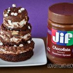 S'mores Crunch Jif Hazelnut Spread Brownies & A Jif Giveaway