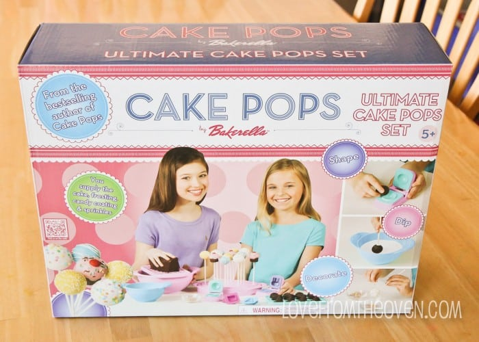 cake pops by bakerella ultimate cake pop set review giveaway love from the oven. Black Bedroom Furniture Sets. Home Design Ideas