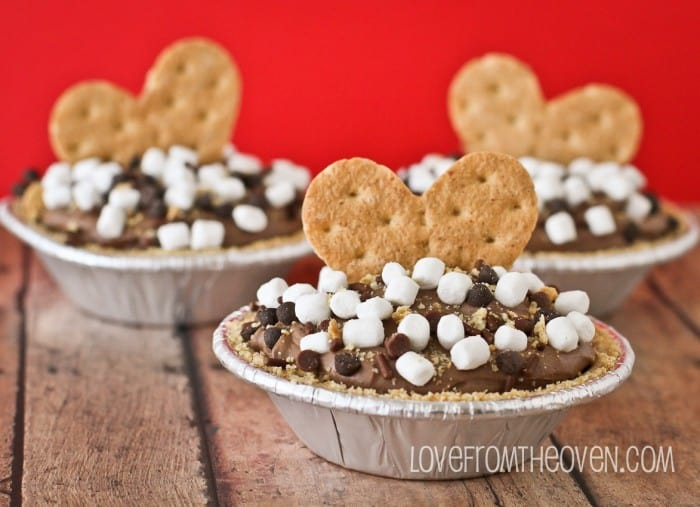 S'mores No Bake Cheesecake Pies-2-8
