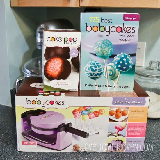 babycakes flip over cake pop maker review love from the oven. Black Bedroom Furniture Sets. Home Design Ideas