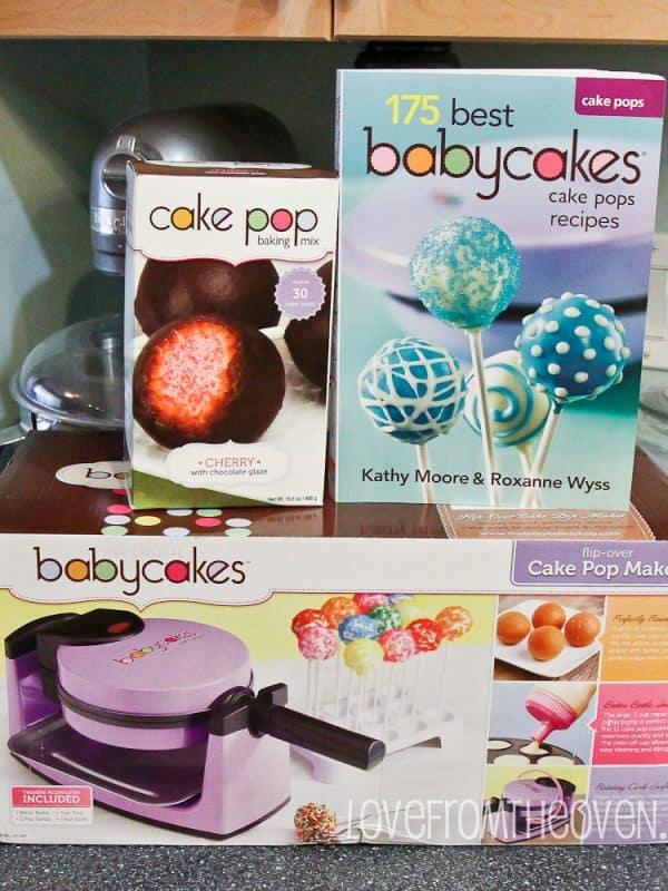 Babycakes Flip-Over Cake Pop Maker Review