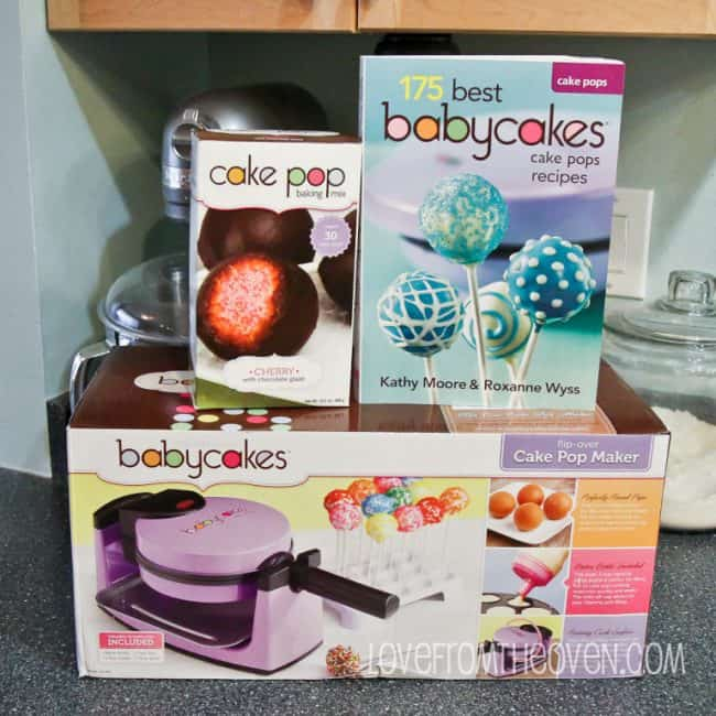Babycakes Cake Pop Maker at Love From The Oven