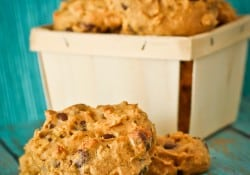 Chocolate Chip Pumpkin Oatmeal Cookies by Love From The Oven-4
