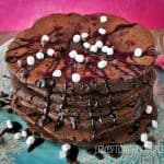 Chocolate Chocolate Chip Pancakes
