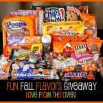 Fun Fall Flavors Giveaway