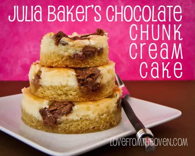 Julia Baker's Chocolate Chunk Cream Cake