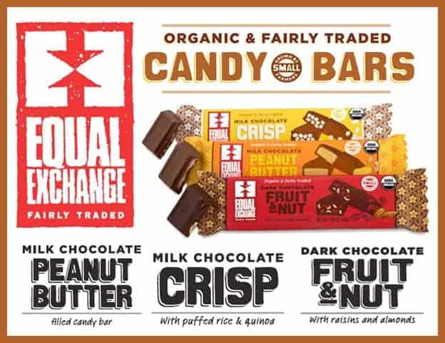 Equal Exchange Candy Bars