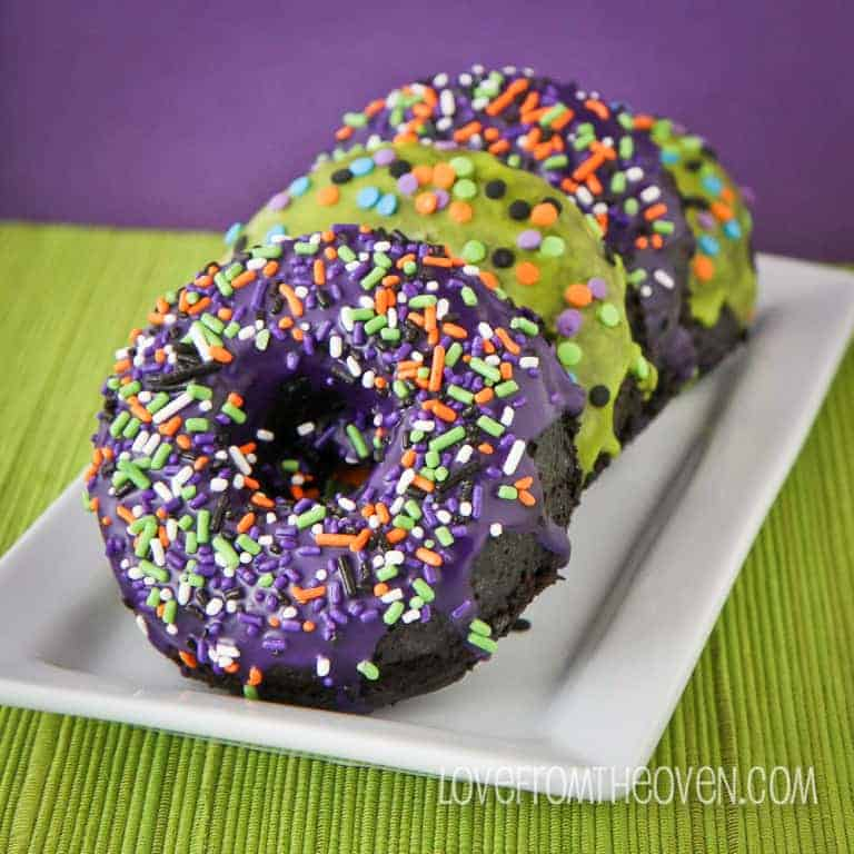 Halloween Donuts with McCormick by Love From The Oven-5