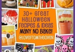 Halloween Recipe Collection by Love From The Oven