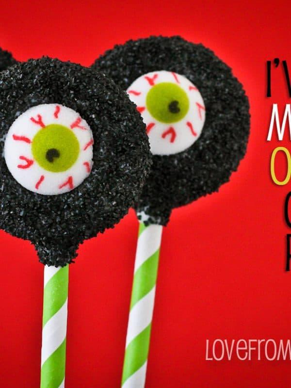 Halloween Oreo Pop Variations