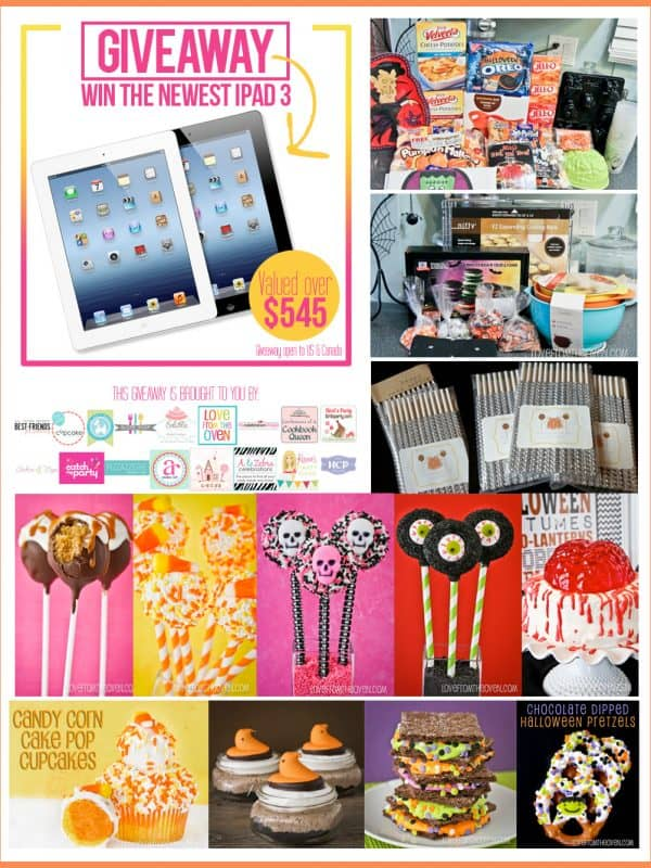 Weekly Wrap Up – Giveaways, Halloween & Cake Pops