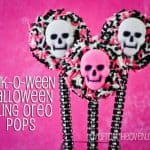 Sparkle & Bling Pink-O-Ween Glam Oreo Pops