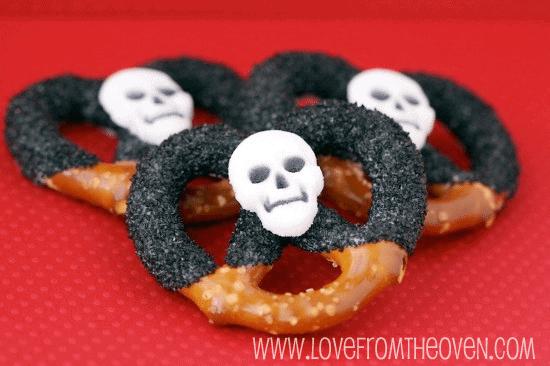 Skeleton Pretzels