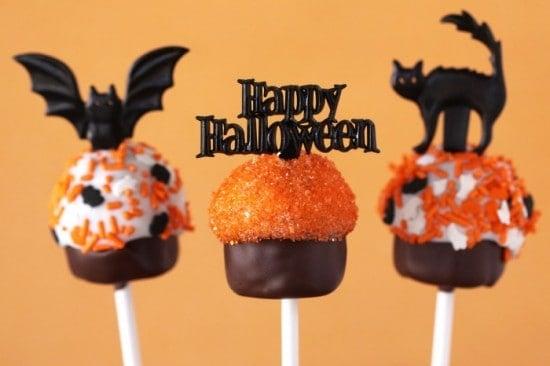 halloween peeps cake pops