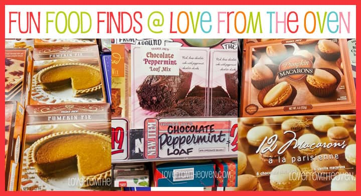 Fun Food Finds at Trader Joes