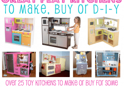 Great Play Kitchens To DIY or Buy at Love From The Oven