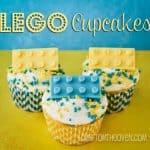 Lego Cupcakes For FIRST LEGO League