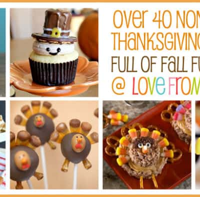 Over 40 Non Pumpkin Thanksgiving Desserts Bites From Other Blogs