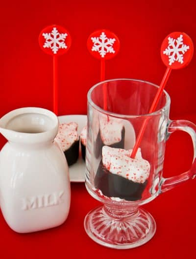 Hot Chocolate & Marshmallow PEEPS On A Stick